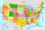 USA Map | Maps of United States of America (USA, U.S.)