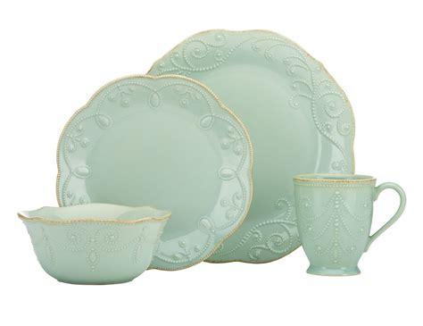 dinnerware lenox sets perle french china piece ice stone tableware