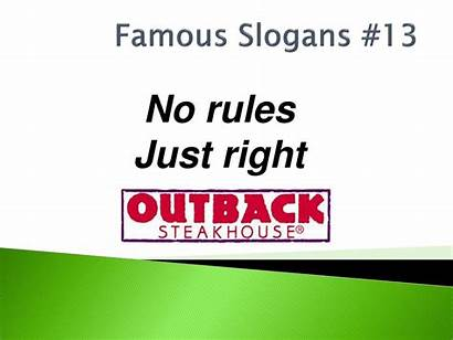 Slogans Famous Powerpoint Ppt Right Presentation Rules