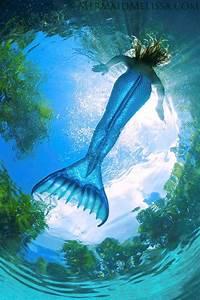 Mermaid Melissa Underwater Sky