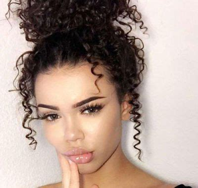 prom hairstyles for mixed curly hair hairstyles ideas for me curly bun hairstyles mixed