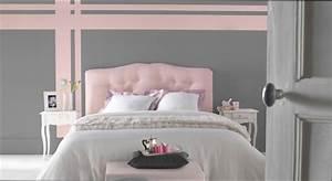 chambre deco deco chambre rose poudre et gris With chambre grise et rose poudre