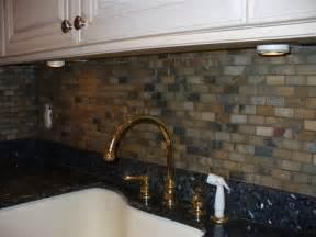 slate tile kitchen backsplash tumbled slate backsplash