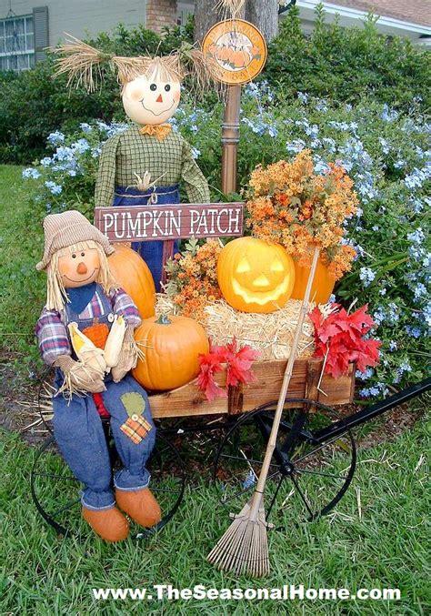 fall yard decor fall yard decoration ideas 171 the seasonal home