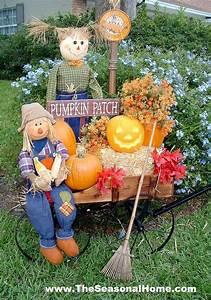 Fall yard decoration ideas the seasonal home for Front yard decorating ideas for fall
