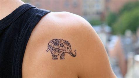 Denver Broncos Standing by 85 Cute Amp Tiny Elephant Tattoo Designs