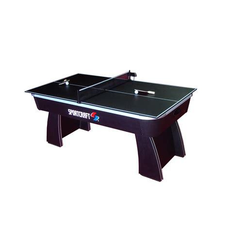 sears sportcraft air hockey table sportcraft 64672 6 39 air hockey table with table tennis