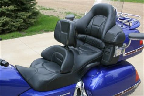 honda goldwing seat  utopia backrest  obo