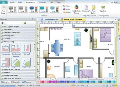 home plan design home plan software  floor plan