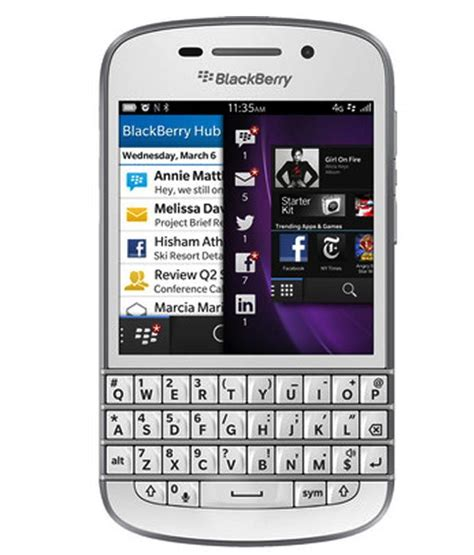 blackberry q10 16gb mobile phones at low prices snapdeal india