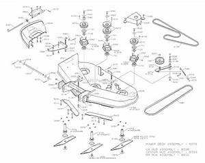 Dixon 4515b  2004  Parts Diagram For Mower Deck 42 U0026quot