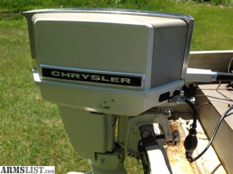Chrysler Boat Motor by Armslist For Sale Trade 14 Chrysler Boat Motor