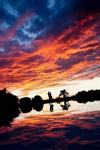 Gorgeous Sunset Wedding Photo by Julian Kanz Junebug