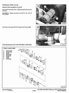 Bobcat X 331  X 331e  X 334 Excavator Service Manual Pdf