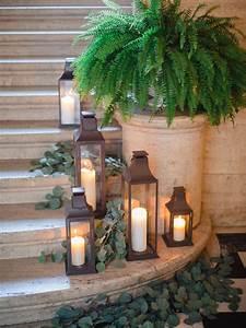 Staircase, Lanterns, U0026, Greenery, By, Designs, By, Ahn