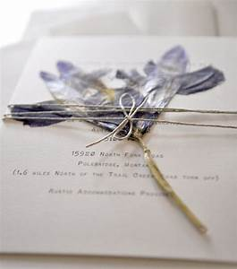 Iris dried flower wedding invitation hellotenfold for Wedding invitations with dried flowers
