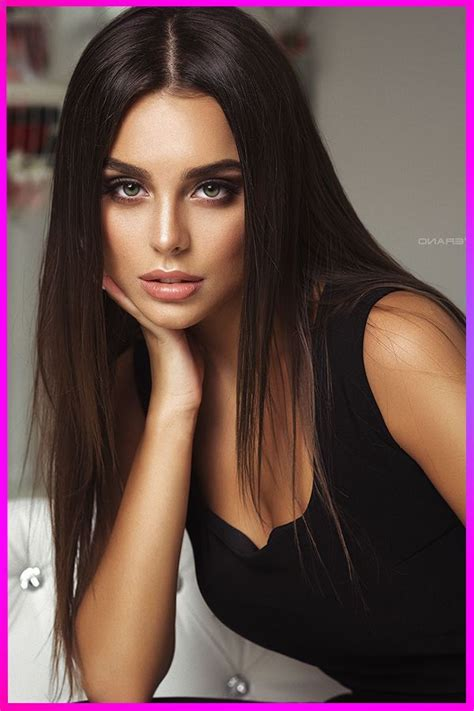 Fabulous Long Straight Dark Brown Hairstyles for Womens in