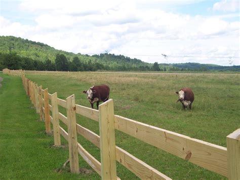 ranch building livestock fencing hill fence