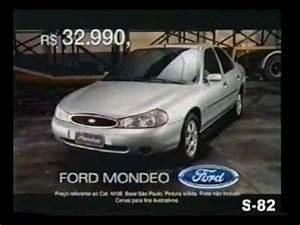 Ford Mondeo 1998 : propaganda comercial ford mondeo 1998 brasil brazil youtube ~ Medecine-chirurgie-esthetiques.com Avis de Voitures