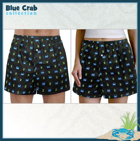 07653 Blue Crab Bay Discount Code by Blue Crab Boxers Boxer Shorts Sm Made In Usa Unique Great