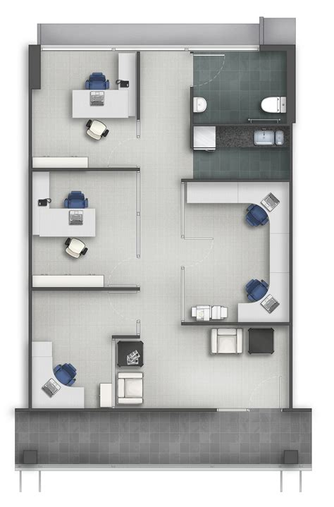 floor plan rendering   alberto talens fernandez  coroflotcom