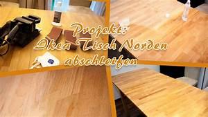 Tisch Norden Ikea : projekt ikea tisch norden abschleifen unser kreativblog ~ Orissabook.com Haus und Dekorationen