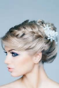 coiffure sur le cotã mariage coiffure mariage chignon de mariage avec tresse sur le côté