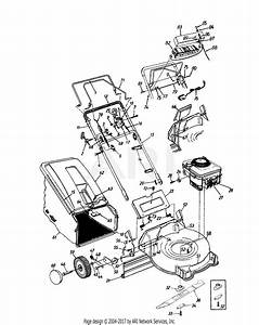 Mtd 12ae458g352  1997  Parts Diagram For General Assembly