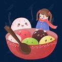 勺子湯圓元宵食物可愛手繪插畫psdPSD圖案素材免費下載 - 尺寸2000 × 2000px - 圖形ID611634147 - Lovepik