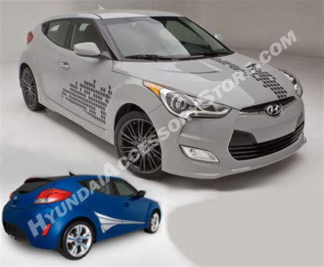hyundai veloster body graphics kit