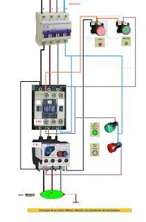 mando con pulsadores marcha paro de motor trifasico esquemas el 233 ctricos el 233 ctrico cableado