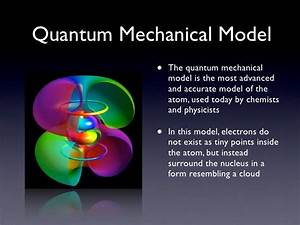 Quantum Mechanical Model  U2022 The Quantum Mechanical Model Is