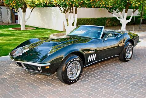 Fathom Green 1969 Chevrolet Corvette Stingray Convertible