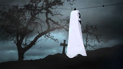 flying ghost spirit halloween youtube