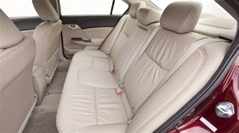 honda civic  rear seat torque news