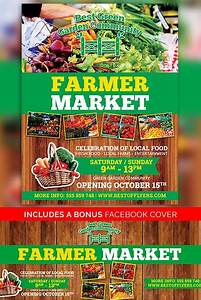 Farmer Market Free Poster Template | Best of Flyers
