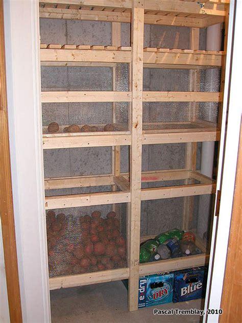 comment faire une chambre froide construire chambre froide étagères et tablettes de