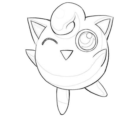 Igglybuff Kleurplaat by Jigglypuff Coloring Pages Getcoloringpages