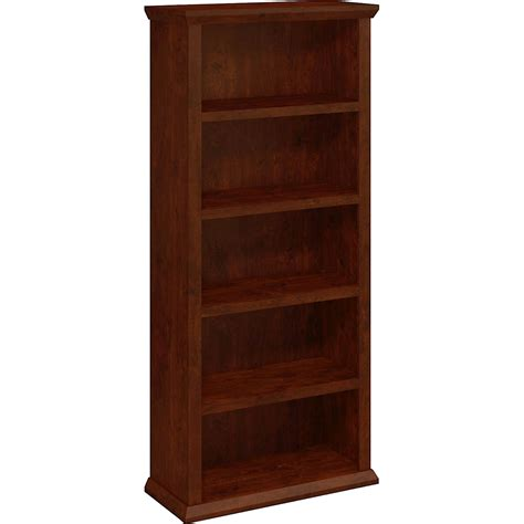Bush Bookcases by Bush Yorktown 5 Shelf Bookcase Bookcases Cabinets