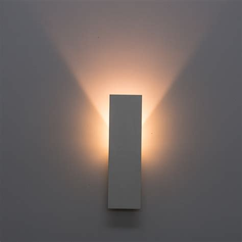 indirect led wall lighting fixture 3w 2700k white