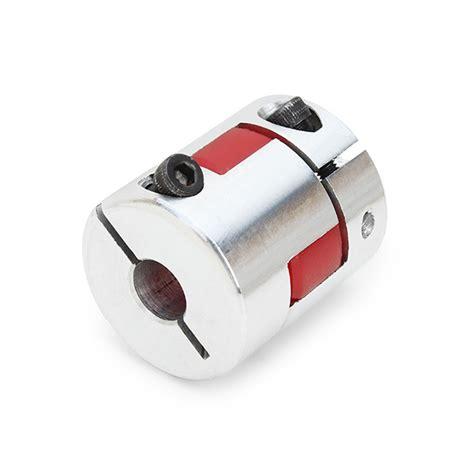mmxmm odmm  lmm aluminum flexible spider shaft coupling cnc stepper motor coupler