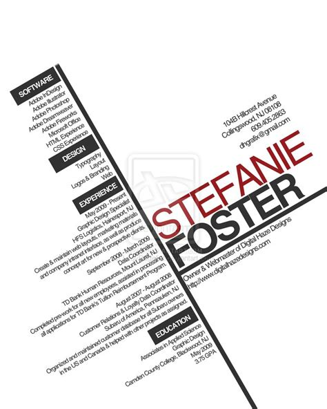 resume layout typography 17 best images about resume design on