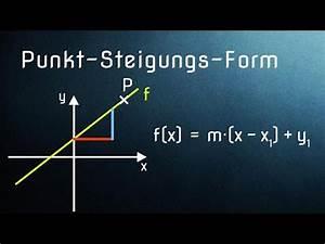 Steigung Im Punkt Berechnen : f09 gleichung einer linearen funktion aus gegebenen ~ Themetempest.com Abrechnung