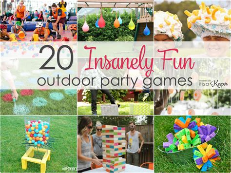 Outdoor Party Games-insanely Fun Games For Your Next