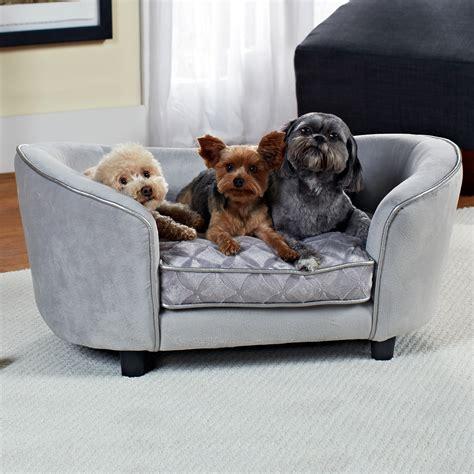 Enchanted Home Pet Quicksilver Sofa Dog Bed In Gray