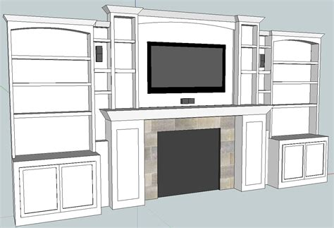 cabinet built  plans  woodworking
