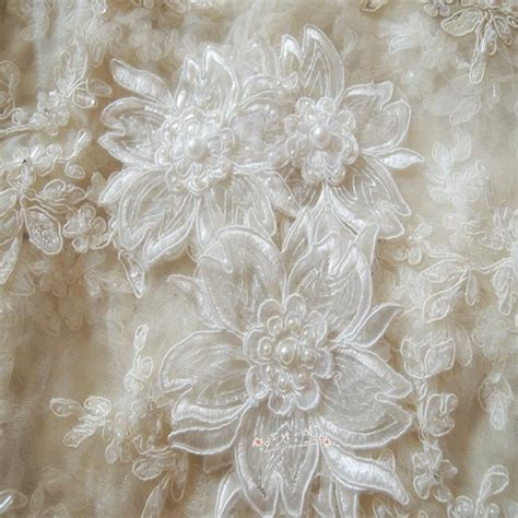 20pieces lot quality corded bridal lace applique wedding