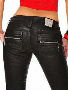 Jeans Auf Rechnung : damen leder jeans temptation ~ Themetempest.com Abrechnung