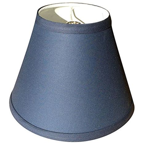 Navy Blue Chandelier Shades by Fenchelshades L Shade 4x8x6 Navy Blue Linen Fabric