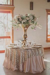 Rose Gold Decor : 20 rose gold wedding ideas for the hopeless romantic weddingwire ~ Teatrodelosmanantiales.com Idées de Décoration